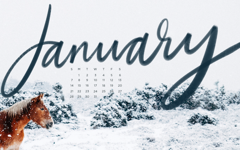 Downloadable Tech Backgrounds for January The 800x501