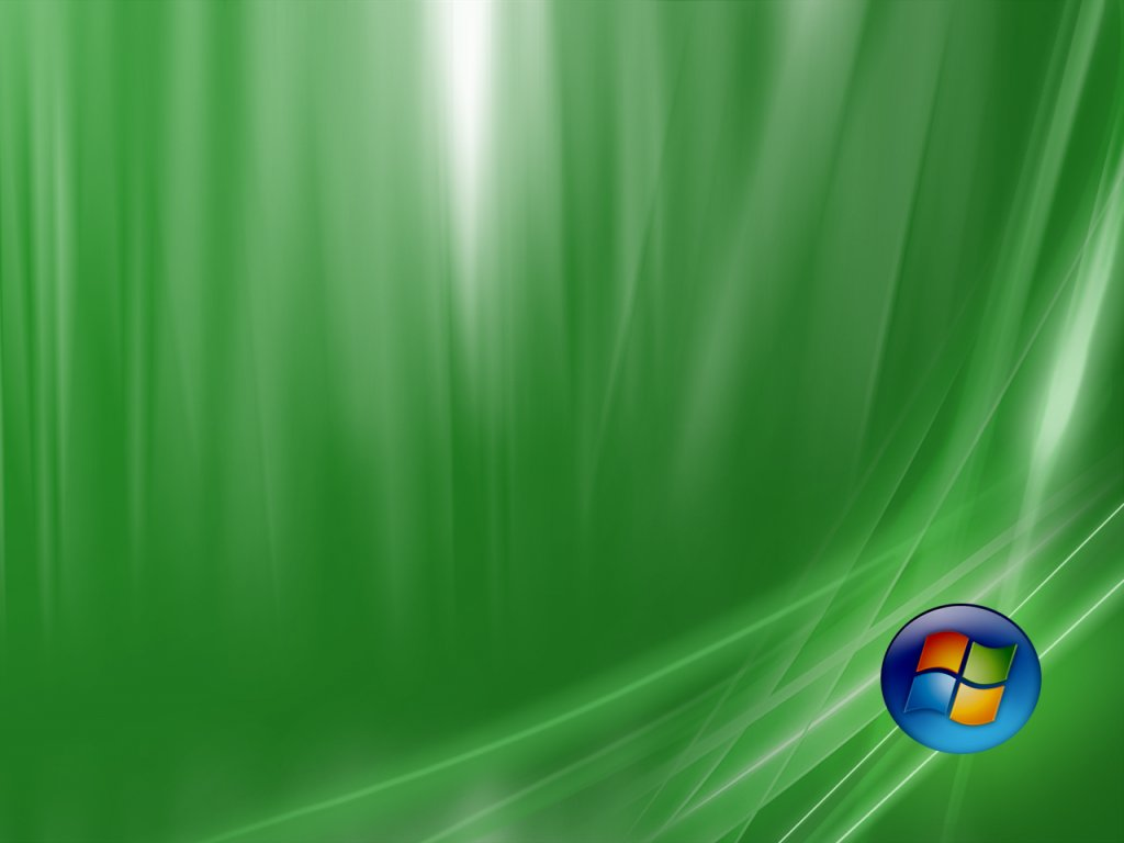 Vista Premium Green wallpaper Desktop Wallpaper 1024x768