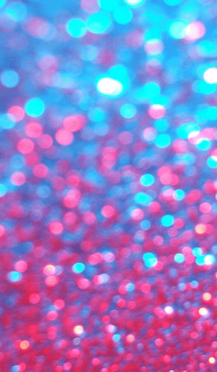 Glitter iphone wallpaper LoVe Pinterest 736x1258