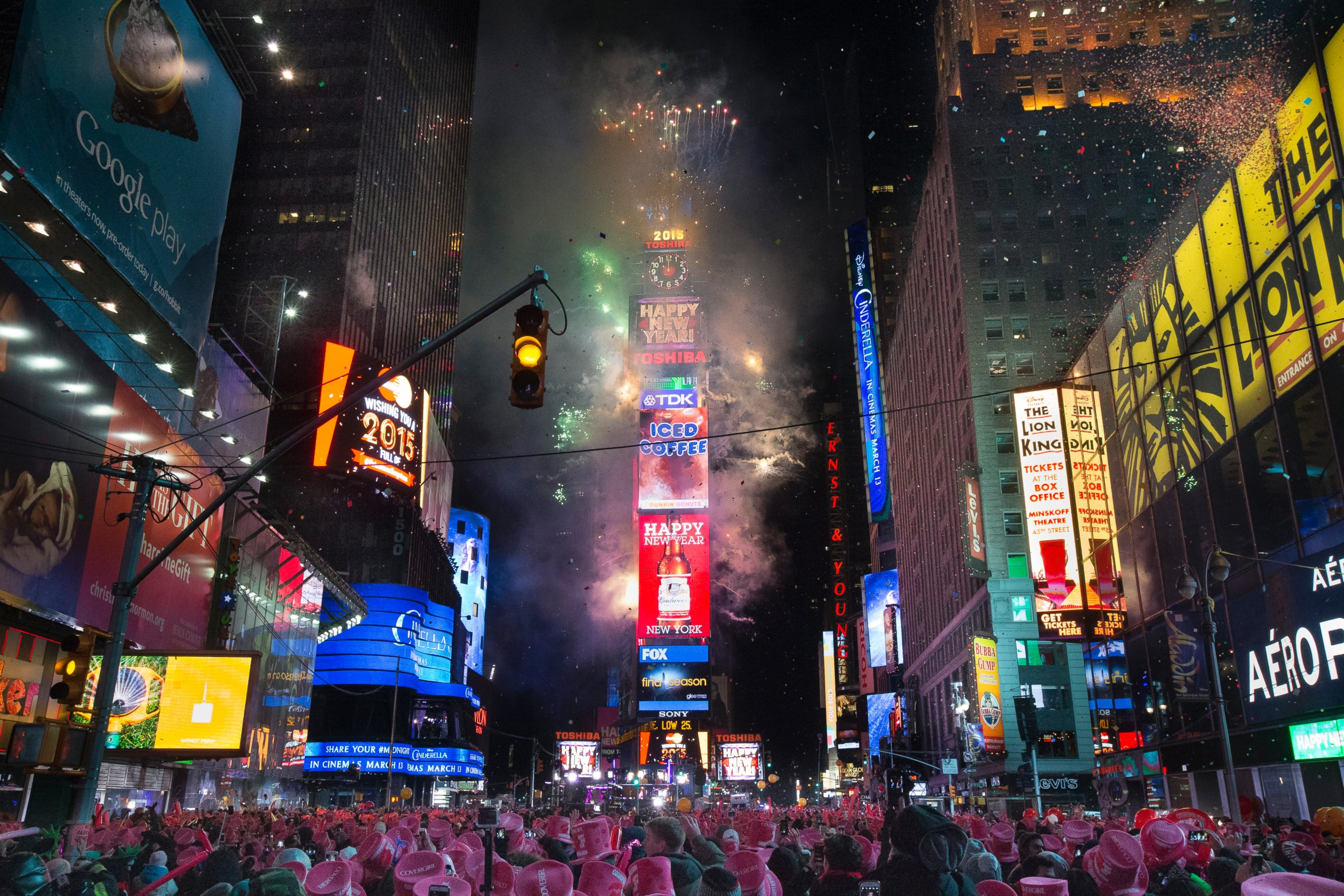 New Years Eve 2014 New York