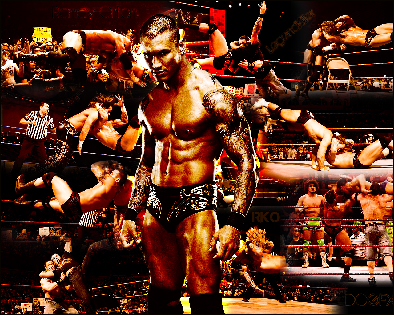 wwe Randy Orton Wallpapers 2011 Wrestling Stars 1280x1024