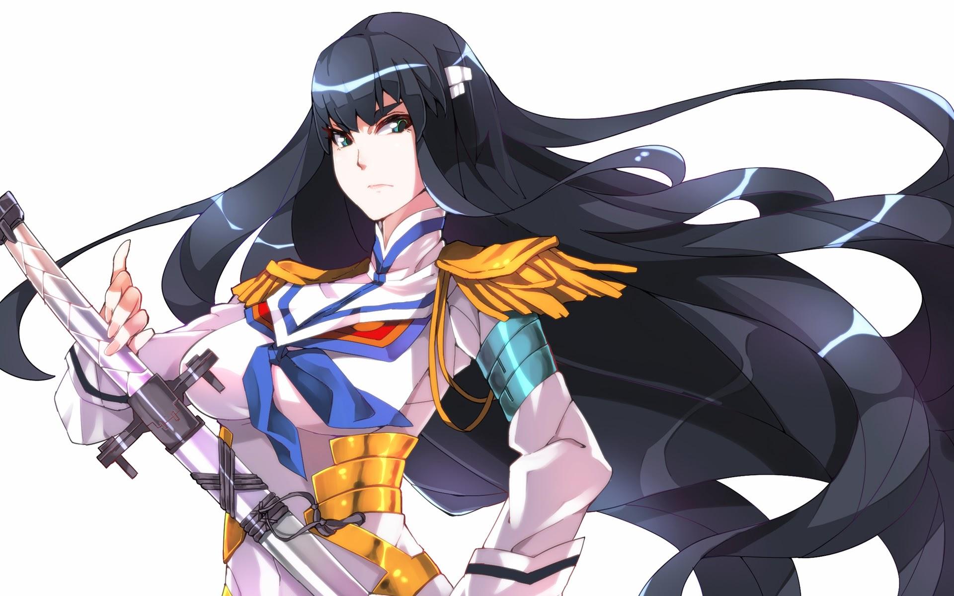kiryuin satsuki kill la kill anime girl image hd wallpaper 1920x1200 1920x1200