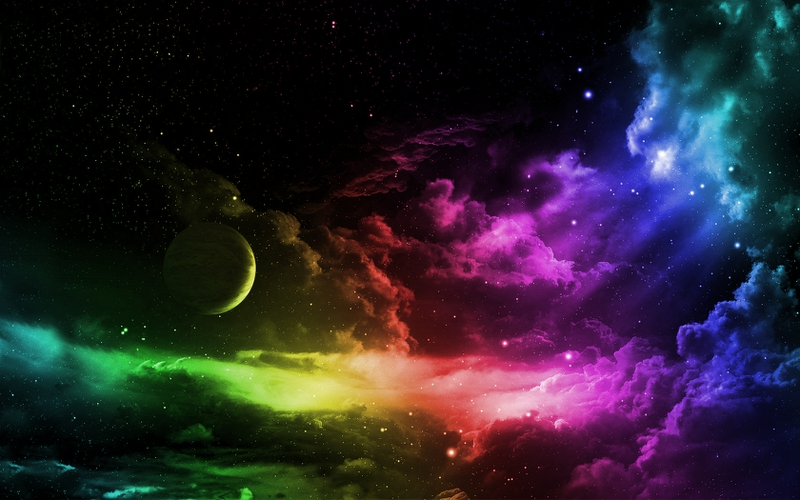 Outer Space Desktop Wallpaper Universe and All Planets Pictures 800x500