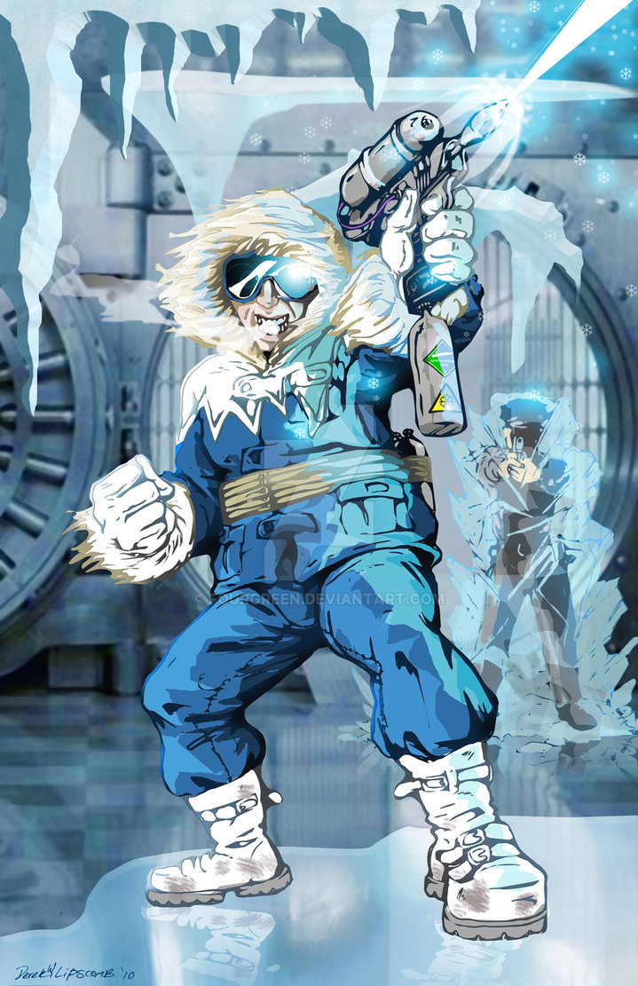 Captain Cold by Fourgreen 719x1111
