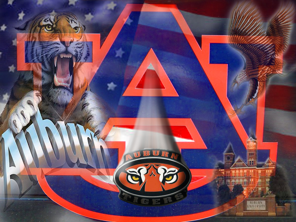 Auburn Tigers Football Desktop Wallpaper Collection 1024x768