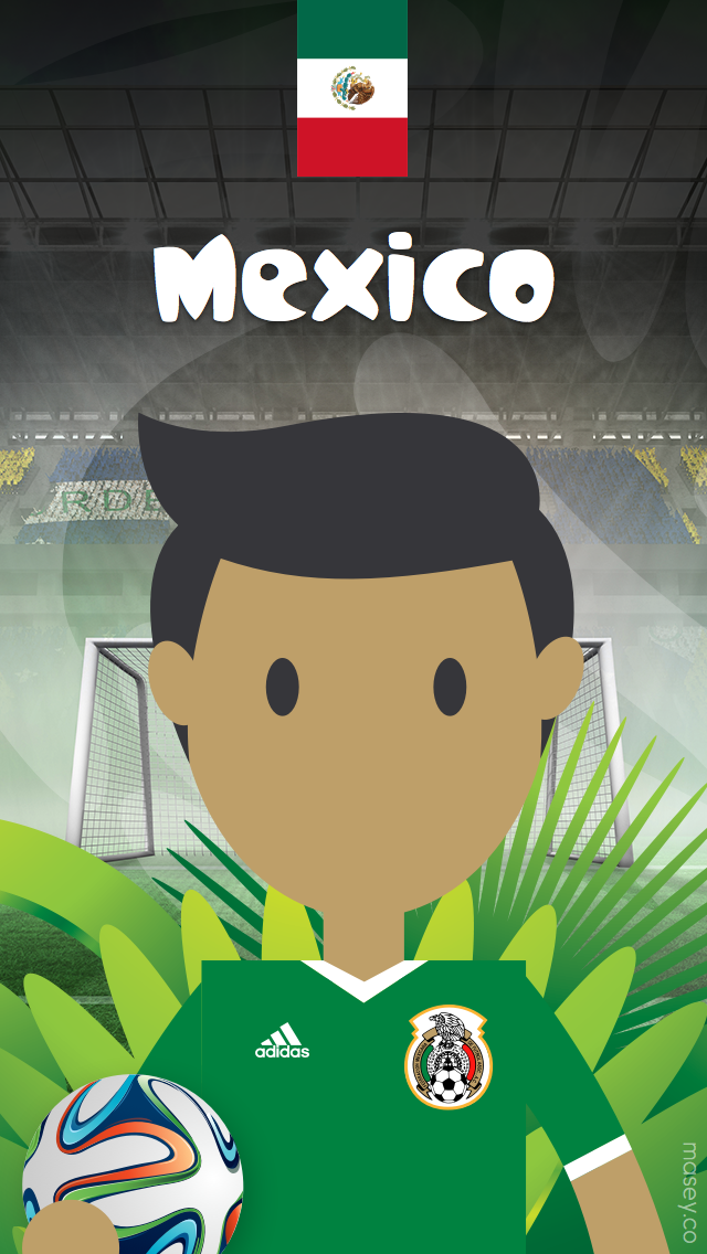 2014 Football World Cup iPhone Wallpaper   masey 640x1136