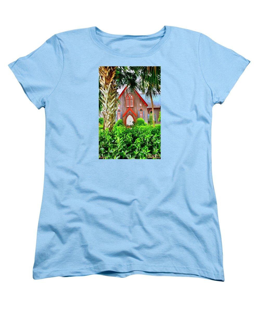 At Church of the Cross Bluffton SC Womens T Shirt by Lisa Wooten 1000x1200