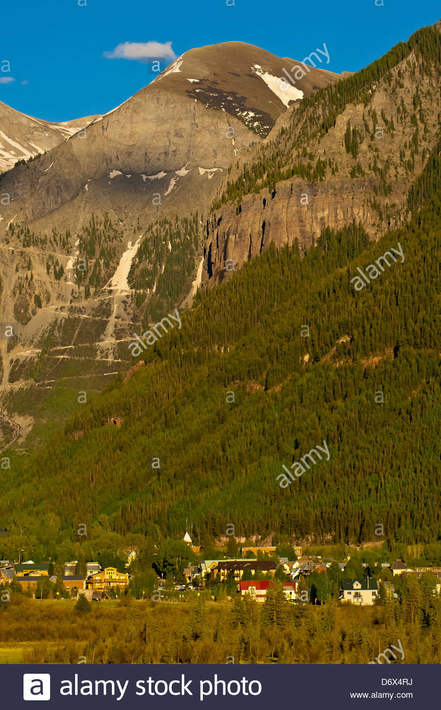 Telluride Colorado USA with the San Miguel CIrque in background 863x1390