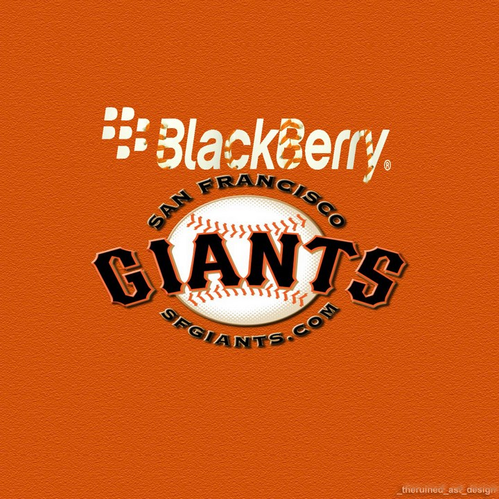 Blackberry San Francisco Giants wallpaper for personal account 720x720