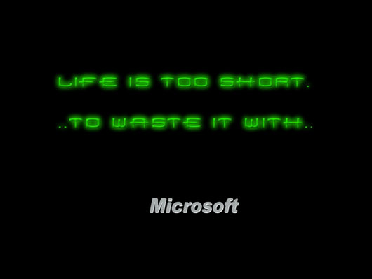 30 Funny Anti Microsoft Windows Wallpaper Celebrity Photo 530x398