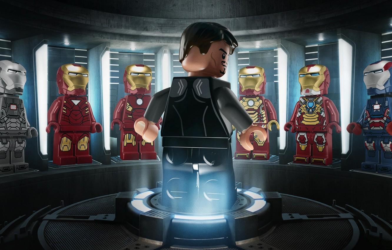 Wallpaper toys LEGO heroes figures Lego Iron man 3 Iron man 1332x850
