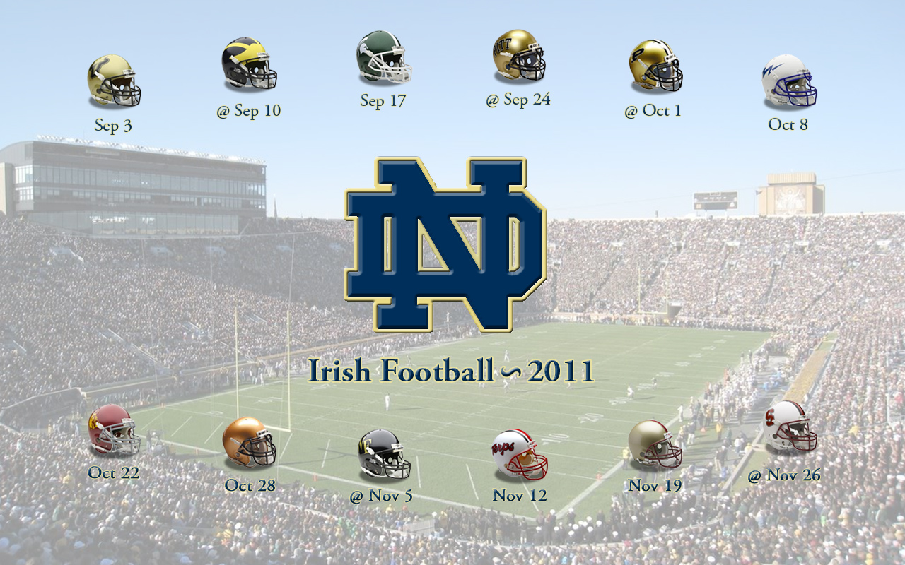 notre dame football schedule 2020 printable