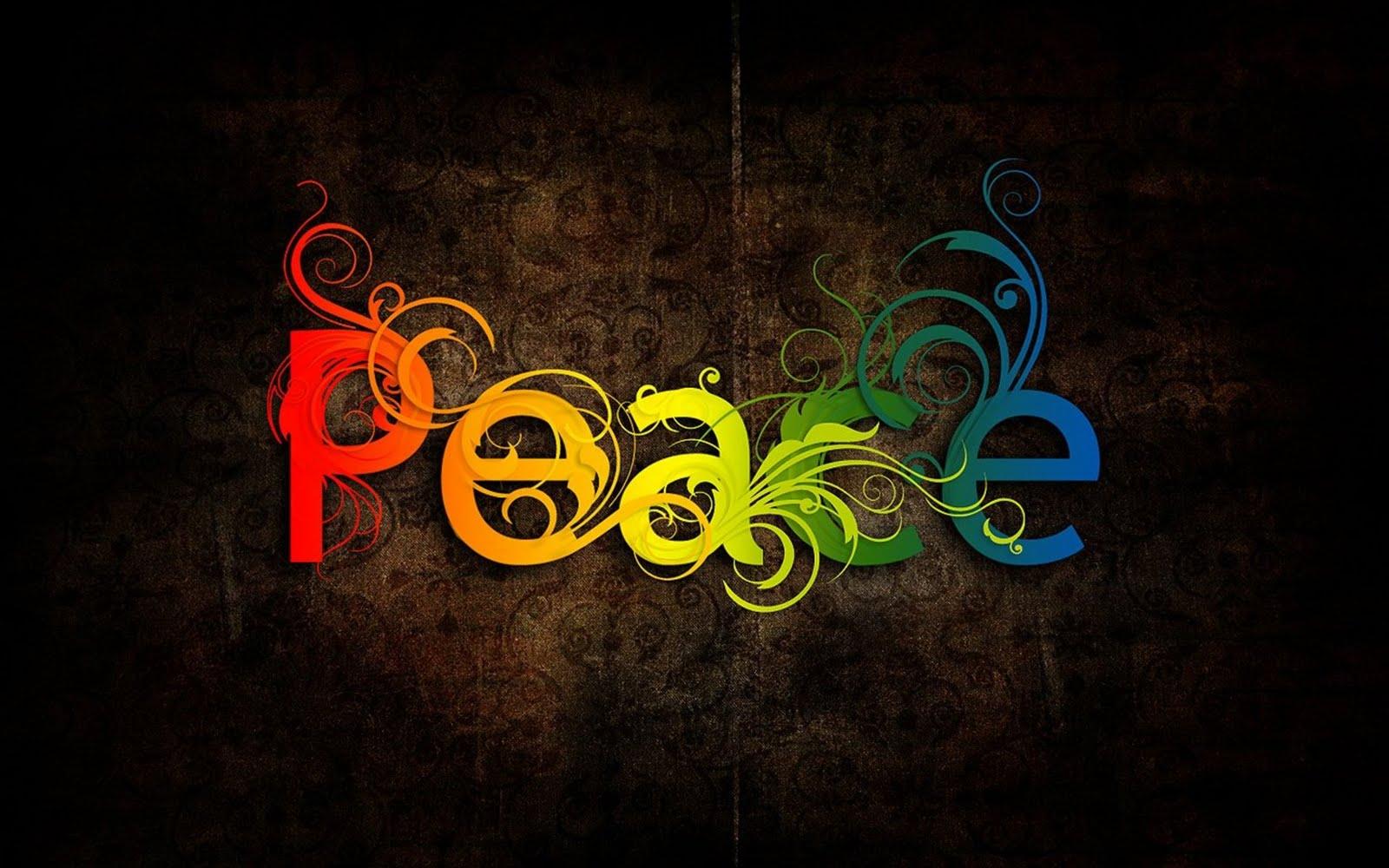 Peace Wallpaper Stock Photos 1600x1000