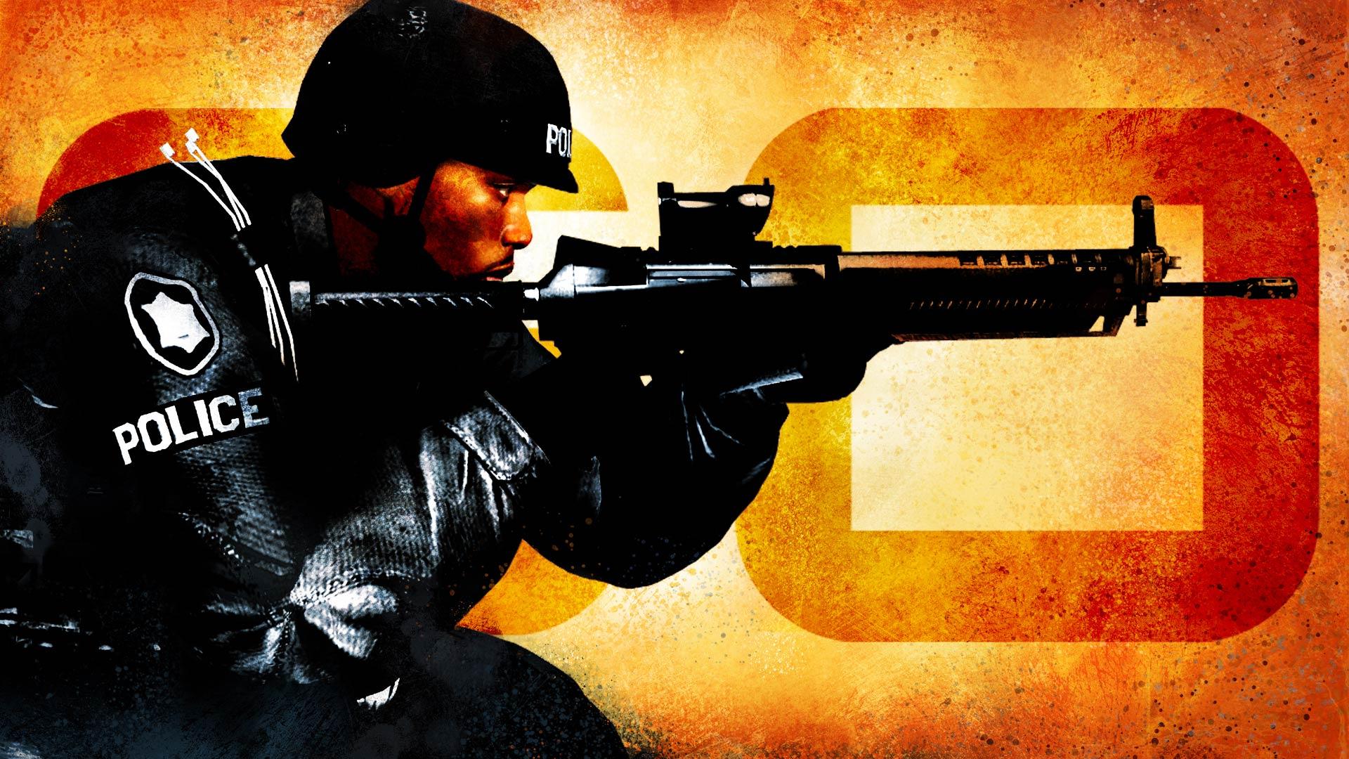CSGO Badge   5 of 5   SWAT by ixZtkpID 1920x1080