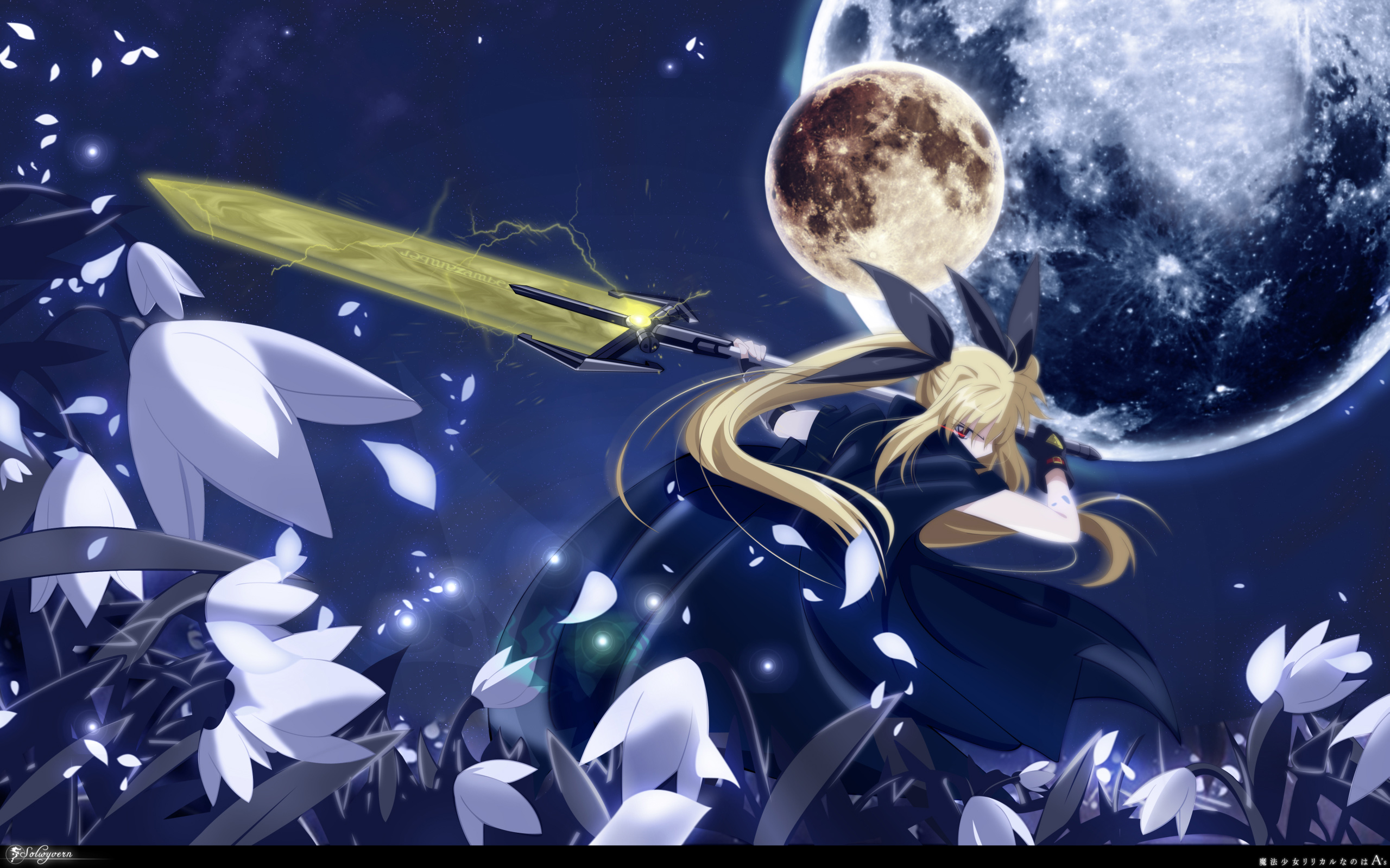 30 Magical Girl Lyrical Nanoha Strikers HD Wallpapers Background 2560x1600