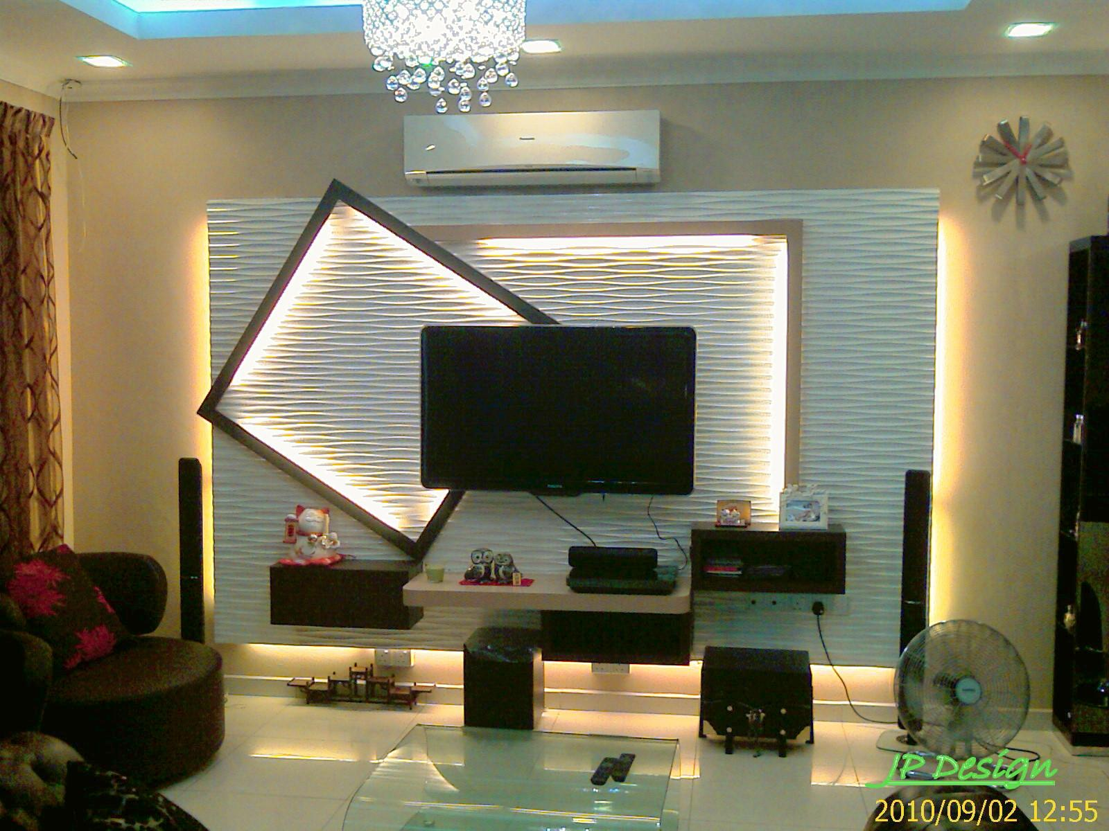 Modern Living Room Tv Cabinet Designs contemporary living room interior design malaysia after mesra