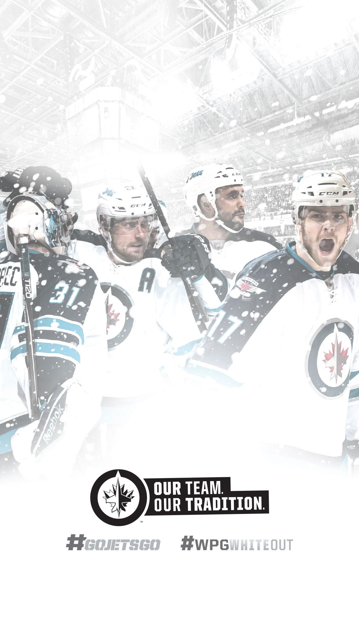 Digital Fan Downloads   Winnipeg Jets   Fan Zone 1242x2208