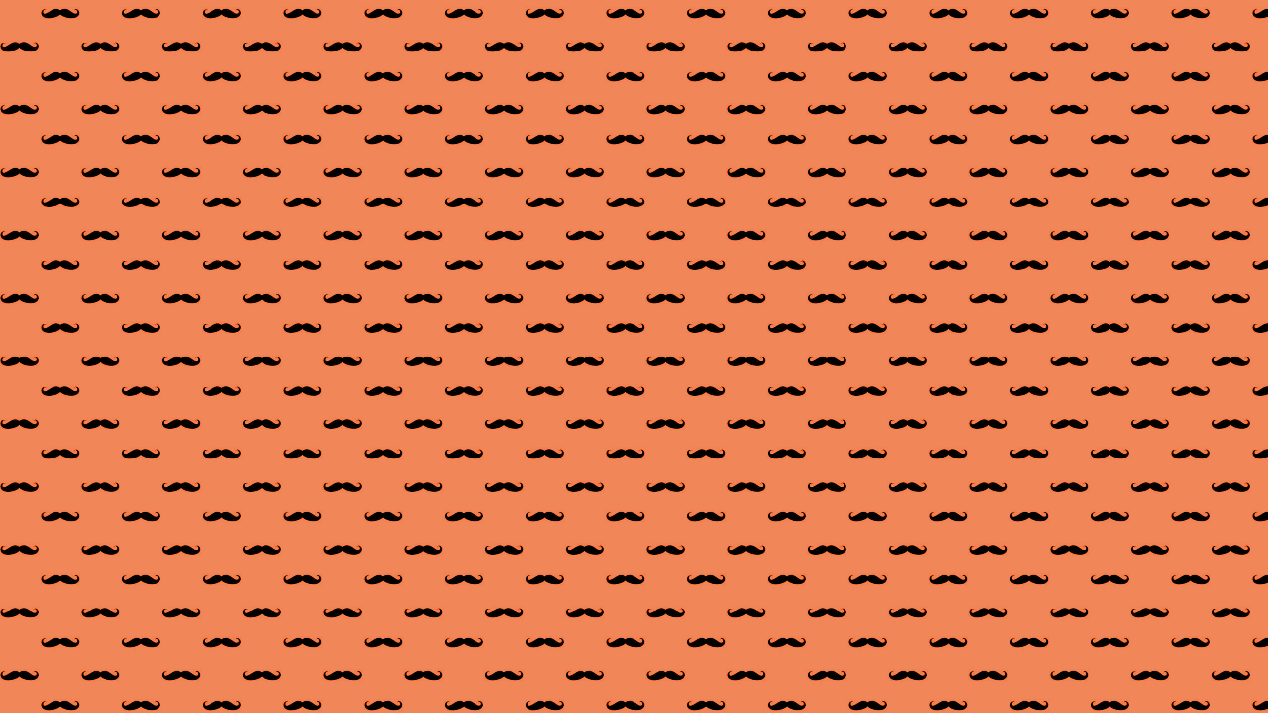 This Moustache Desktop Wallpaper Is Easy Just Save The 2560x1440