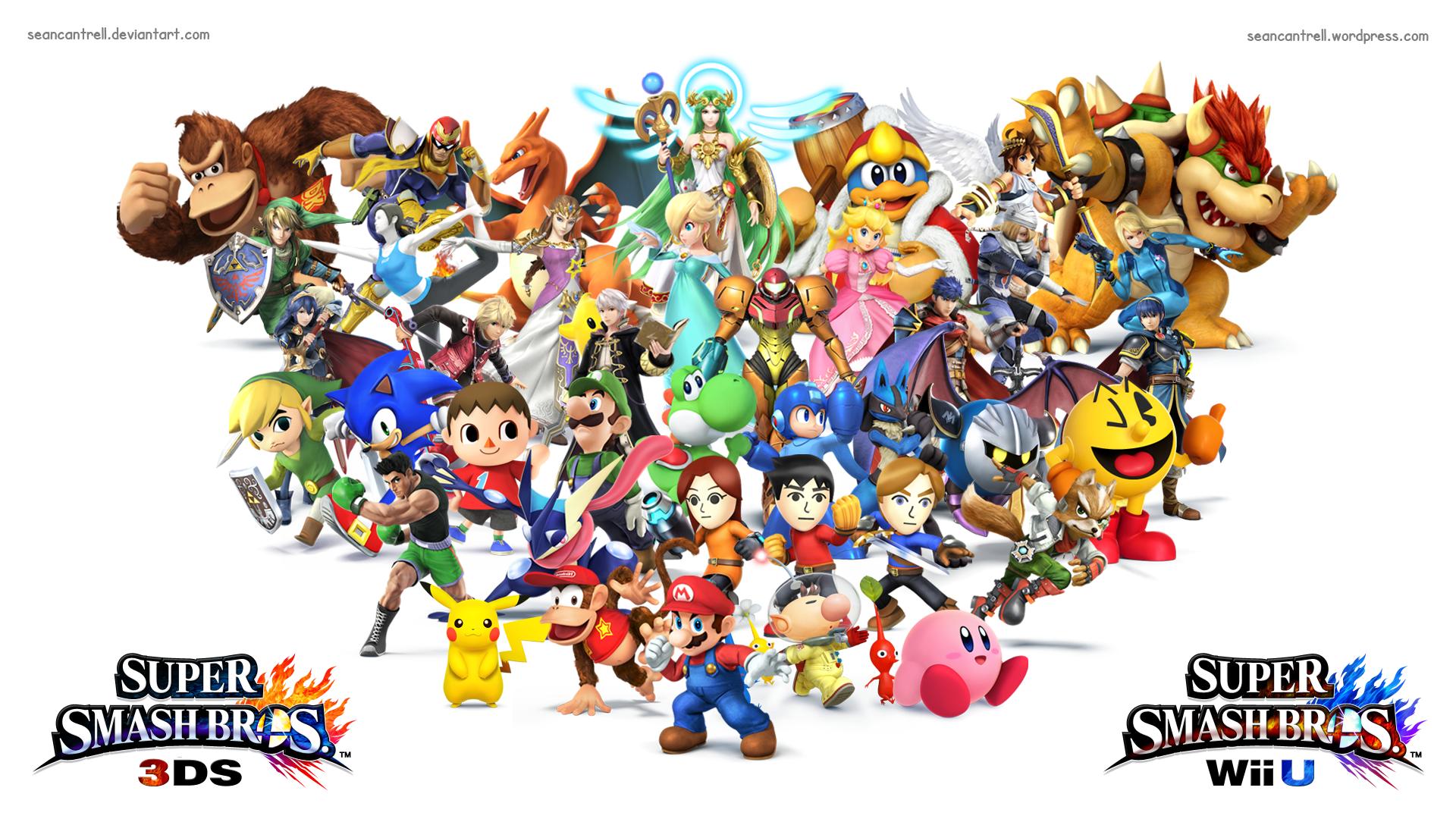 [50+] Smash Bros Wii U Wallpaper on WallpaperSafari