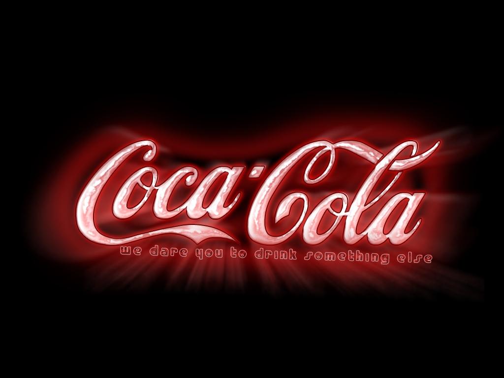 Картинка с надписью кока-колы