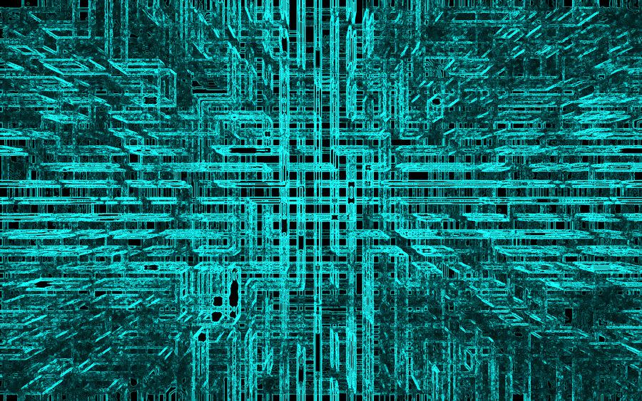 Futuristic Abstract Wallpaper by dj bing bing 900x563