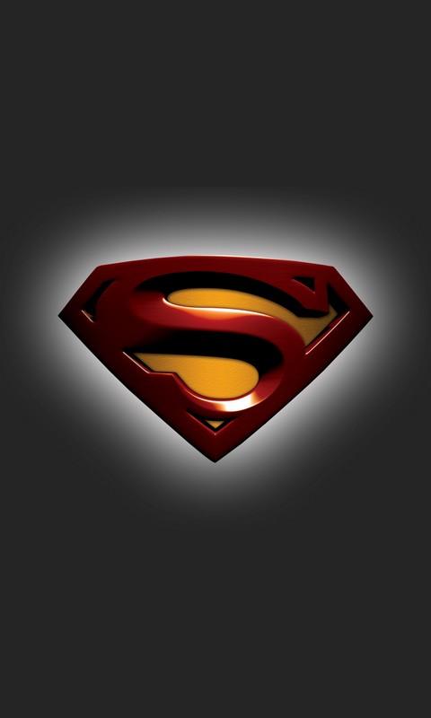 Superman Logo Cell Phone Wallpaper 480 800 HD Wallpapers 480x800