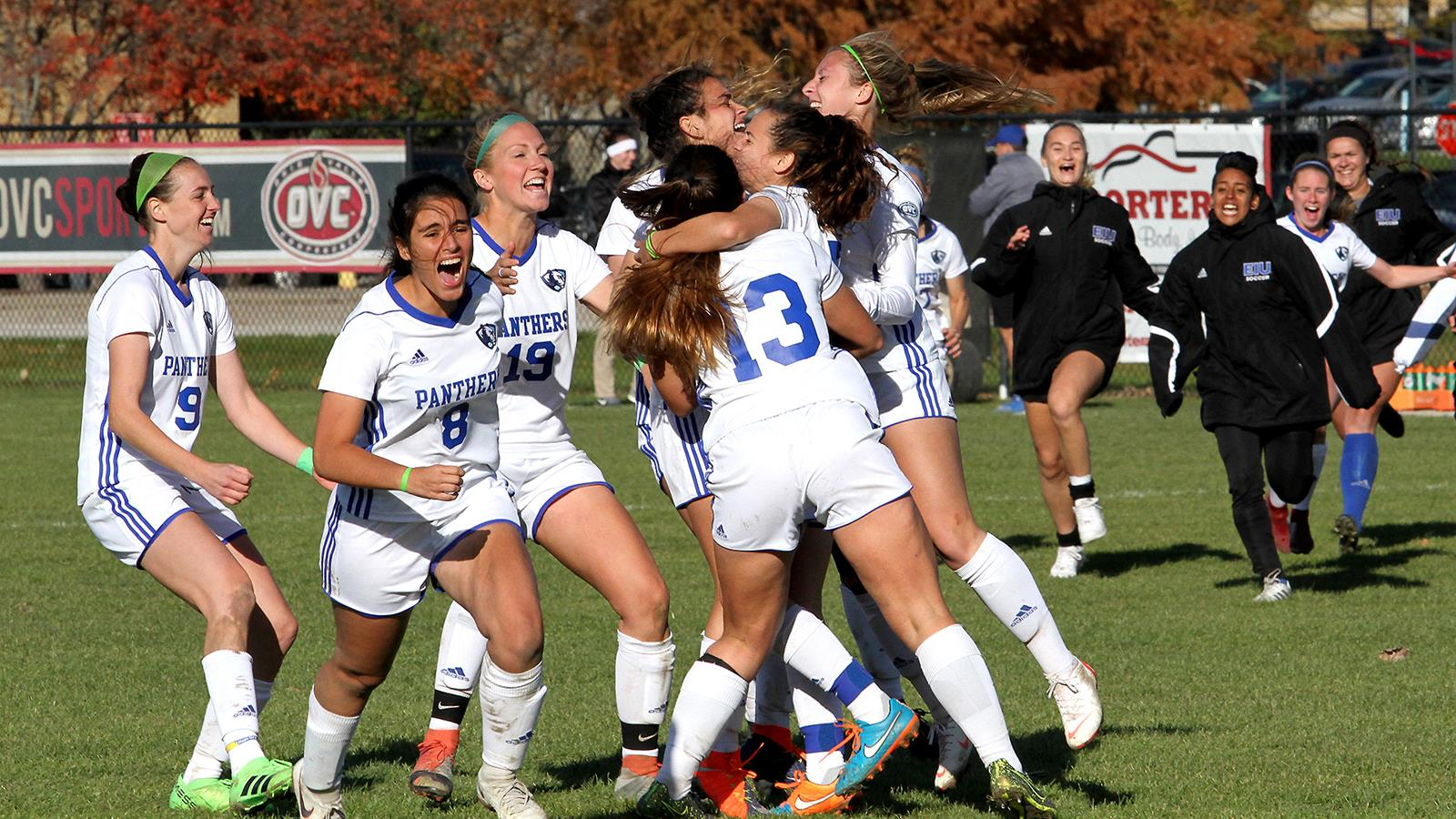 Womens Soccer Advances In OVC Tournament   Eastern Illinois 1600x900