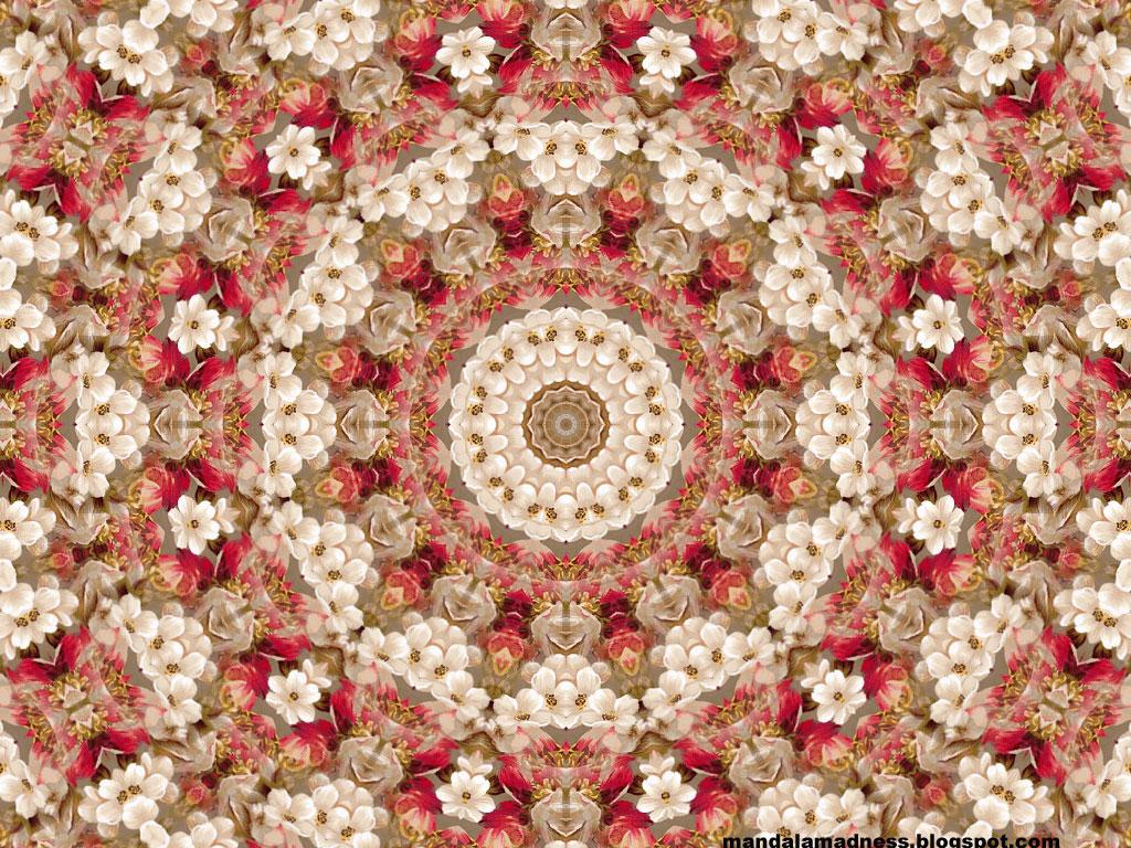 Floral Mandala Wallpaper 1024x768