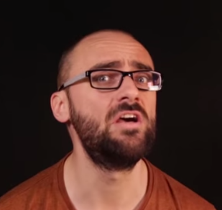 Michaels gorgeous face i spotted in the Tarski Paradox video vsauce 753x712