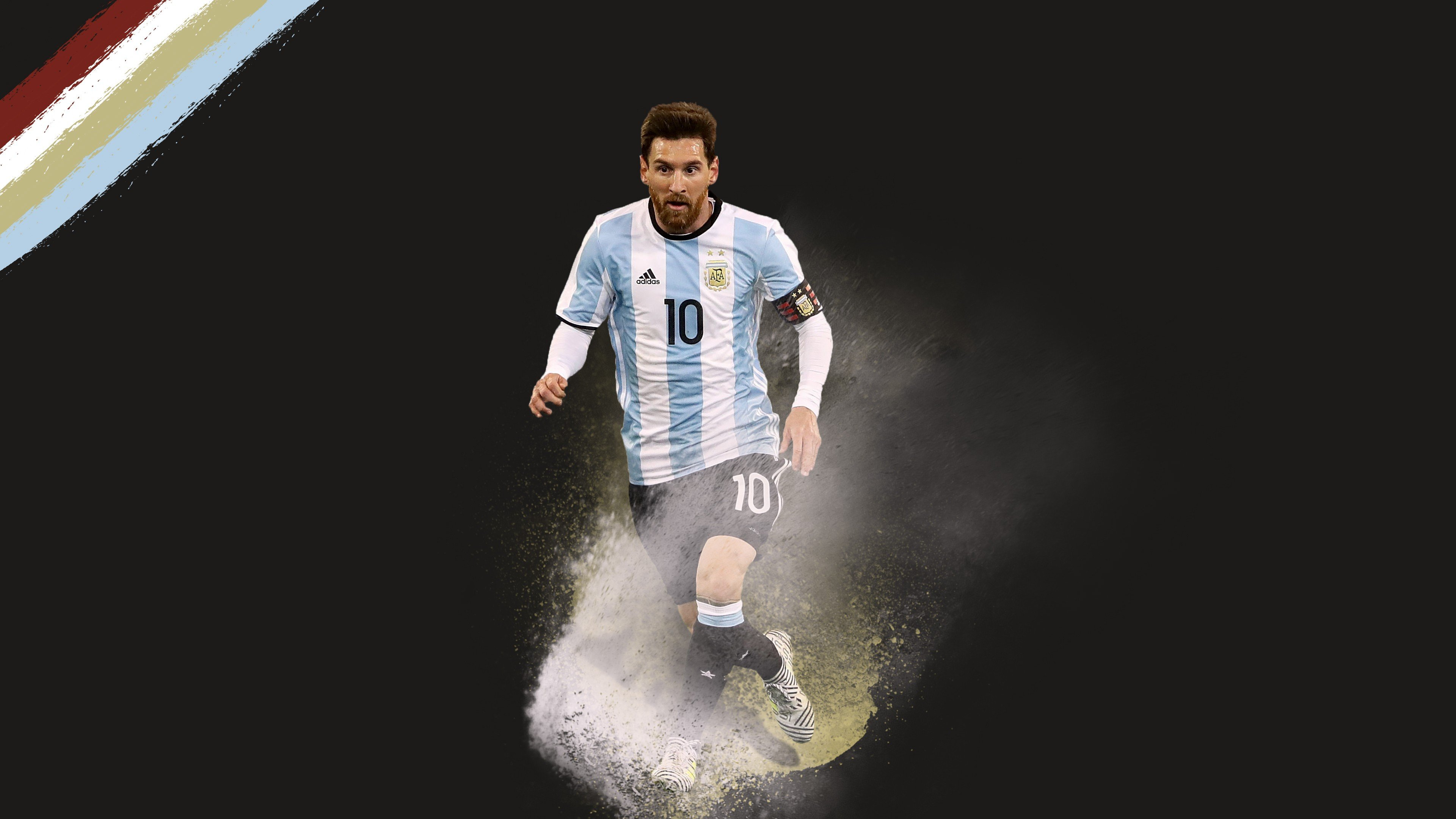 Wallpaper Lionel Messi soccer football 4k Sport 16301 3840x2160