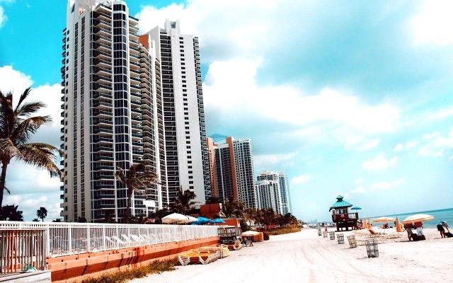 Miami Beach Wallpaper HD HD4Wallpapernet 640x400