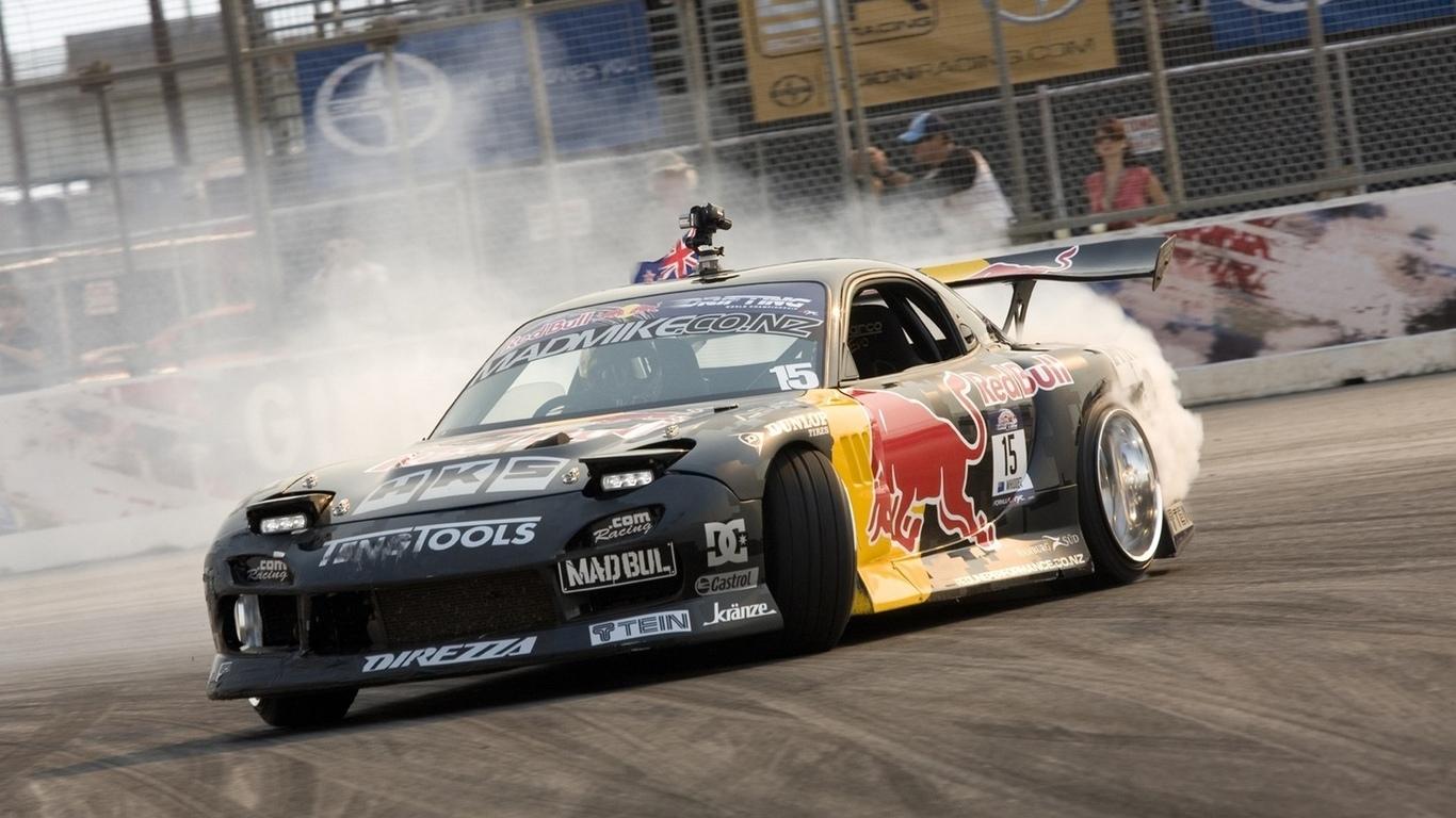 Mad mike rx7 wallpaper wallpapersafari - Drift car wallpaper ...