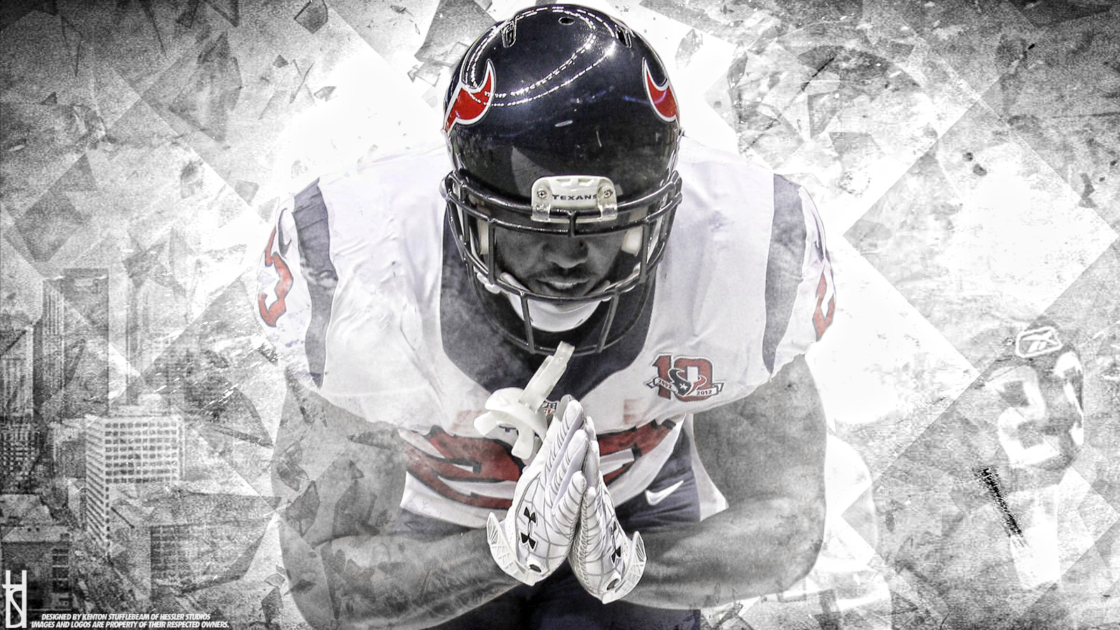 Wallpapers   Arian Foster Houston Texans 1600x900 wallpaper 1600x900