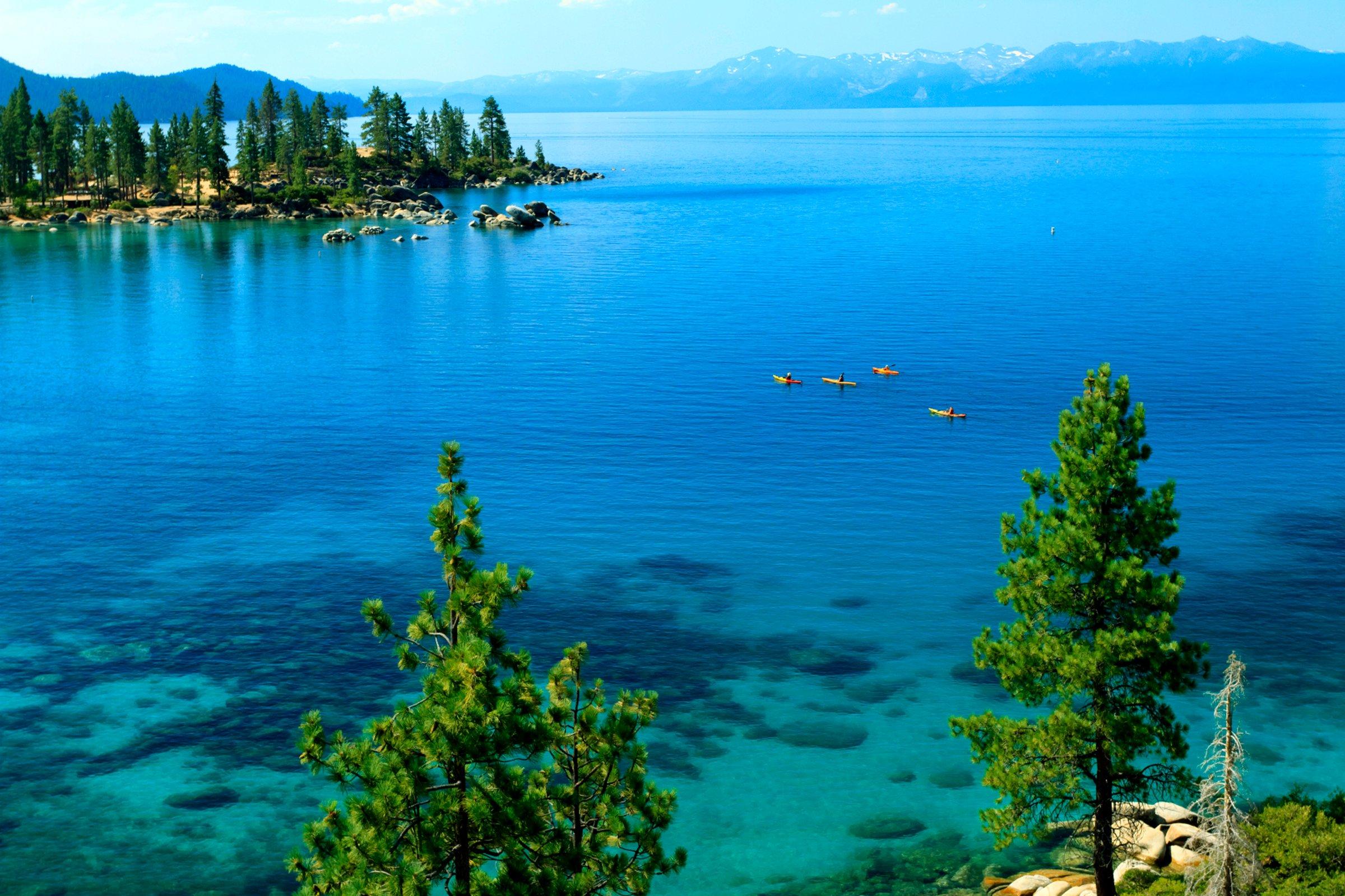 Clearest Water In The World Lake Tahoe Wallpaper Emerald Bay Wallpapersafari