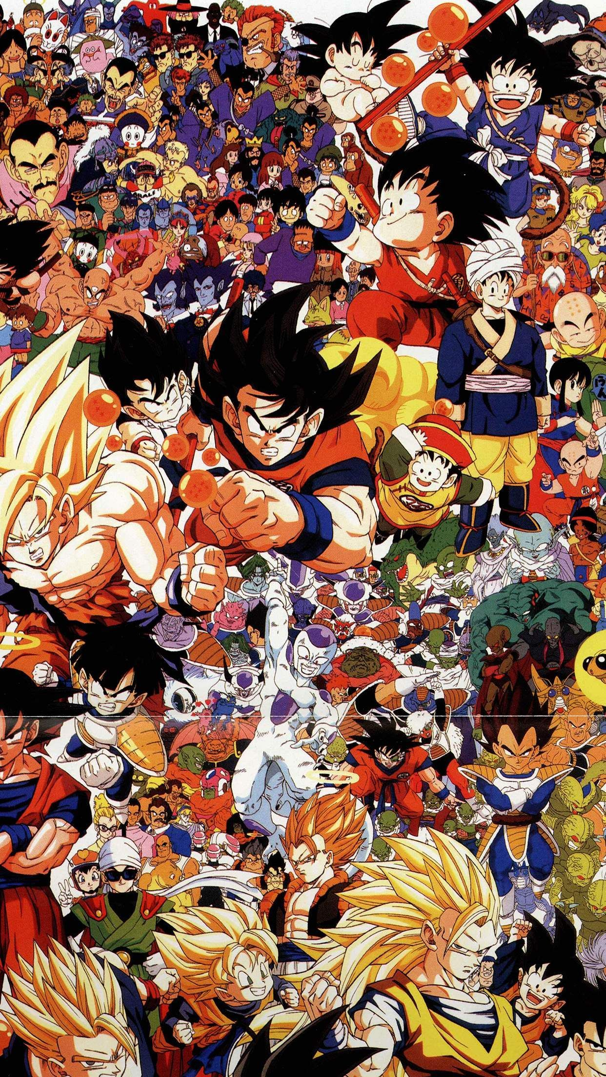Dragon Ball Z iPhone Wallpapers   Top Dragon Ball Z iPhone 1242x2208