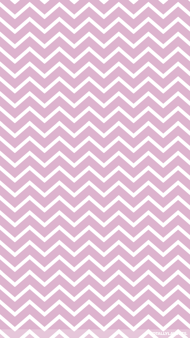 Pink Zig Zag White Stripes iPhone Wallpaper   Stripe Wallpapers 640x1136