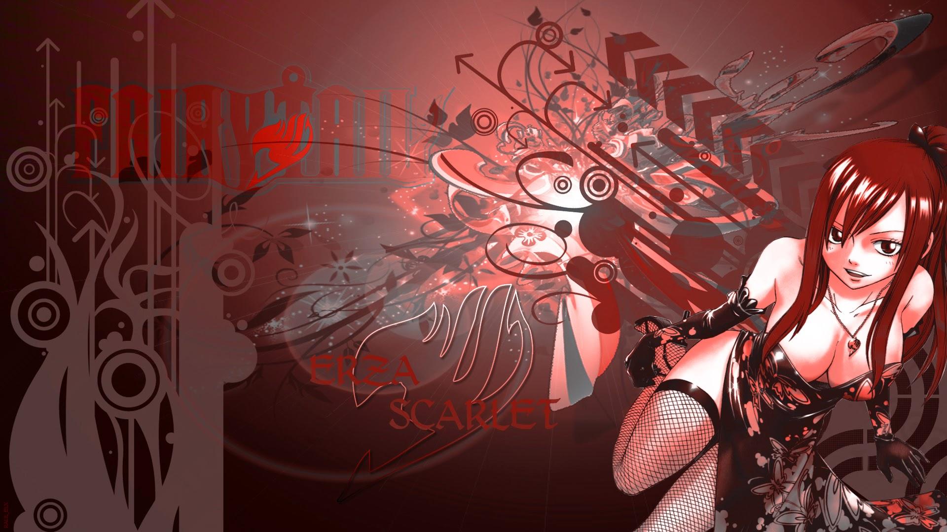 erza scarlet wallpaper hd wallpapersafari