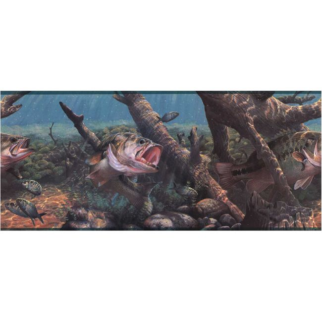 Game Fish Wallpaper Border 650x650