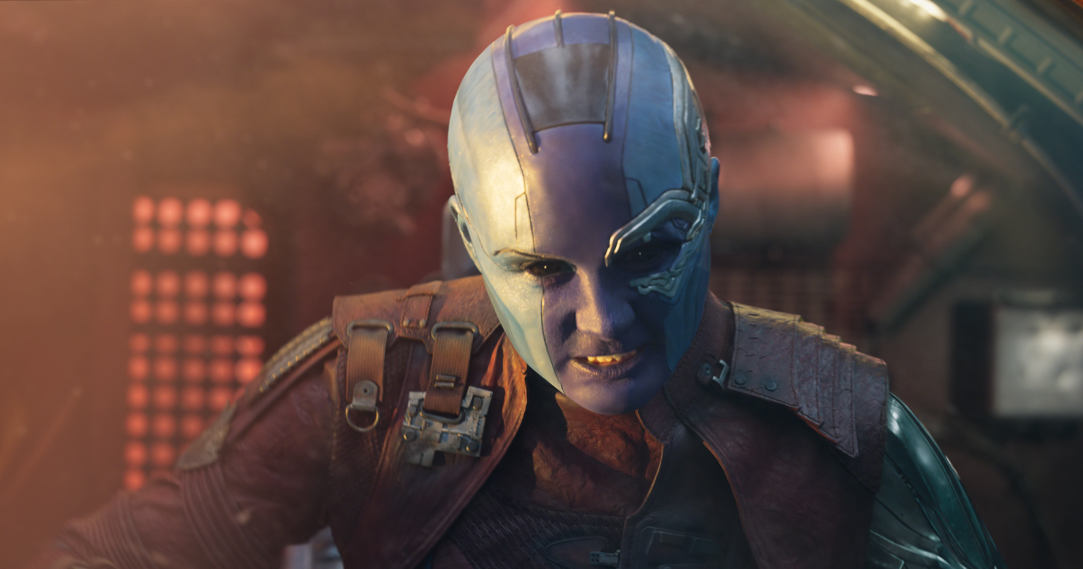 Thanos and Nebula Karen Gillan Teases a Confrontation 2159x1136