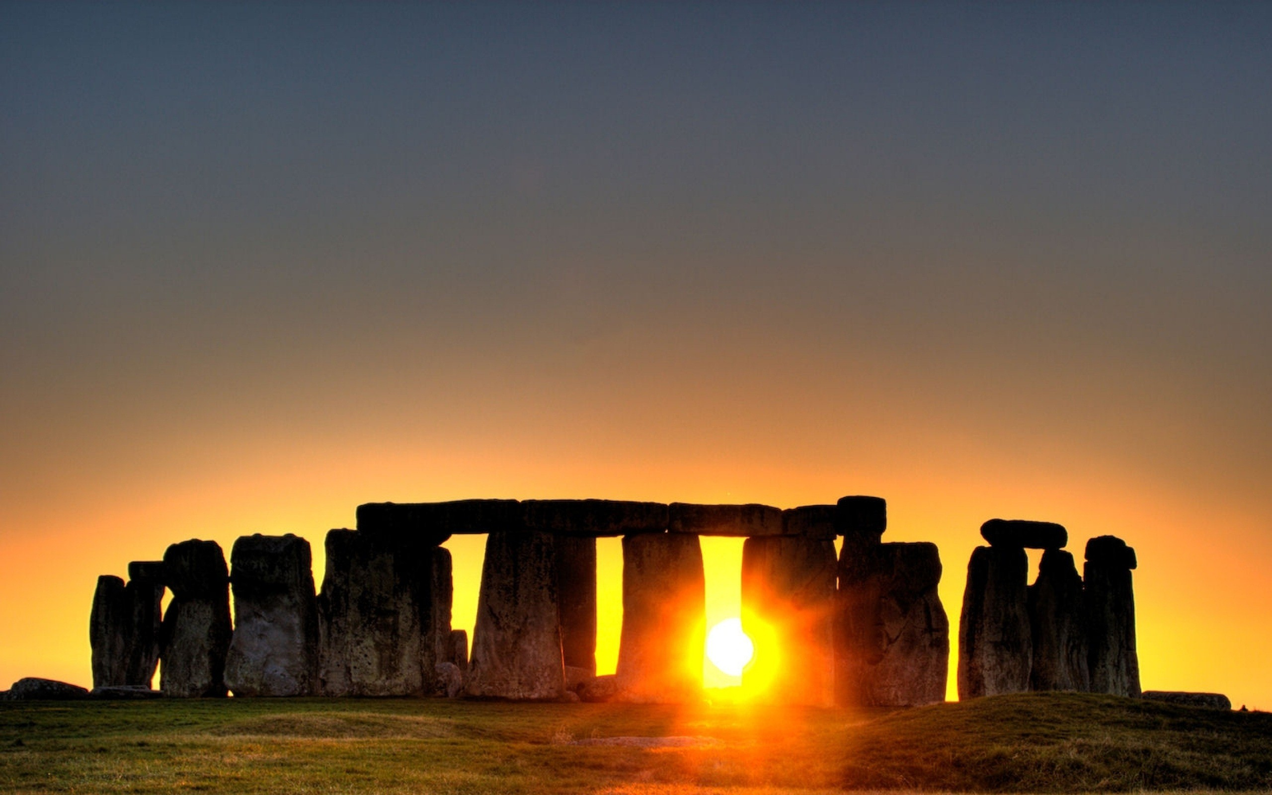 Hd wallpaper england - Stonehenge Sunset Located In England Hd Wallpaper