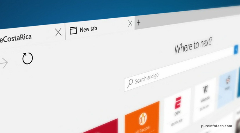 Microsoft Edge is the name for Windows 10 next web browser 827x457