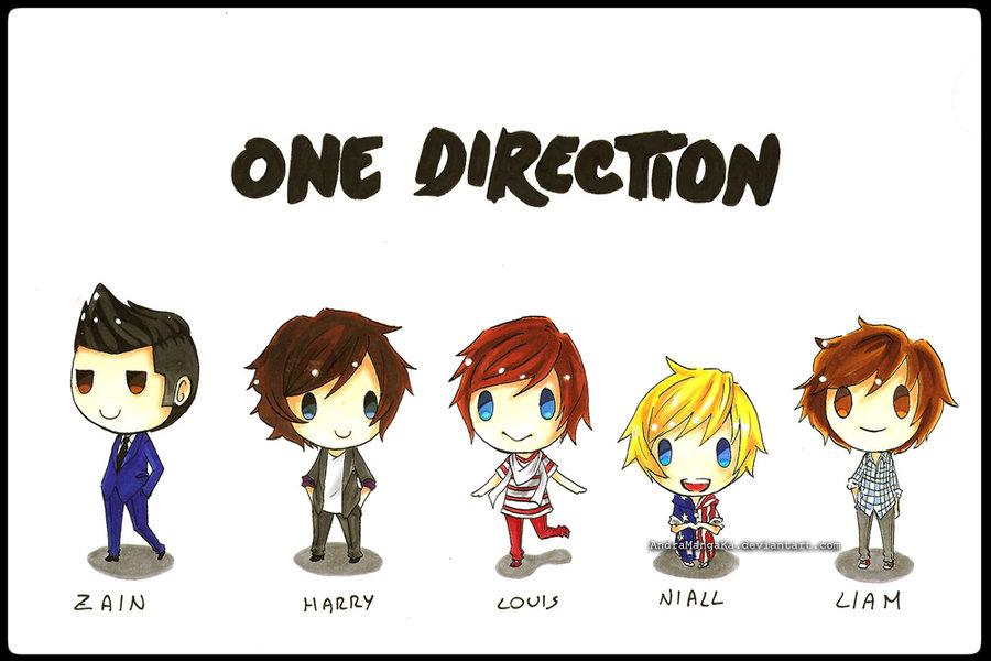 One Direction 900x600