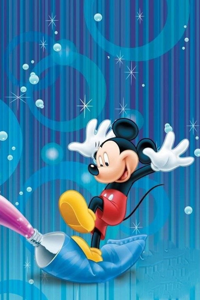 hd disney micky iphone 3gs wallpapers backgrounds 640x960