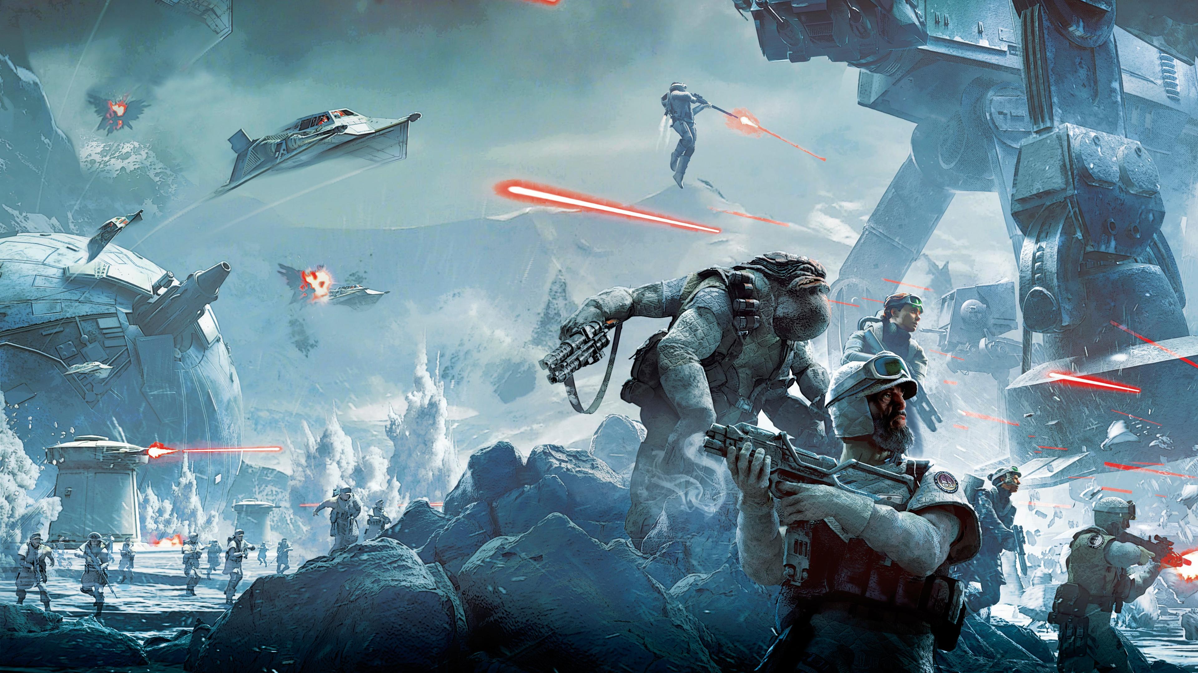 Star Wars Battlefront 4K Wallpaper - WallpaperSafari