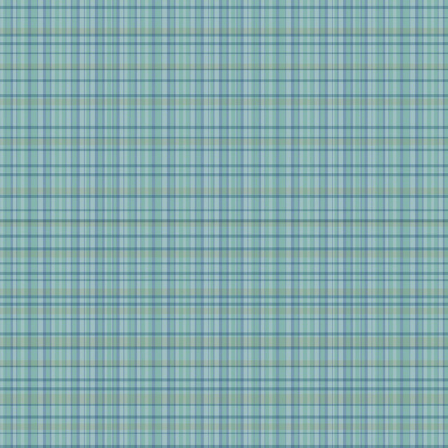 Plaid Blue Removable Wallpaper Half Kit   Farmhouse   Wallpaper   by 640x640