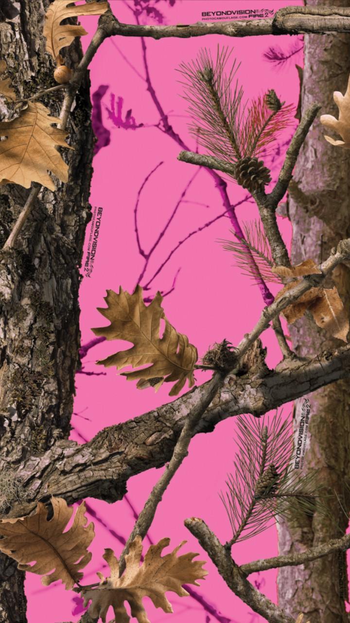 Pink Realtree Camo Wallpaper 720x1280