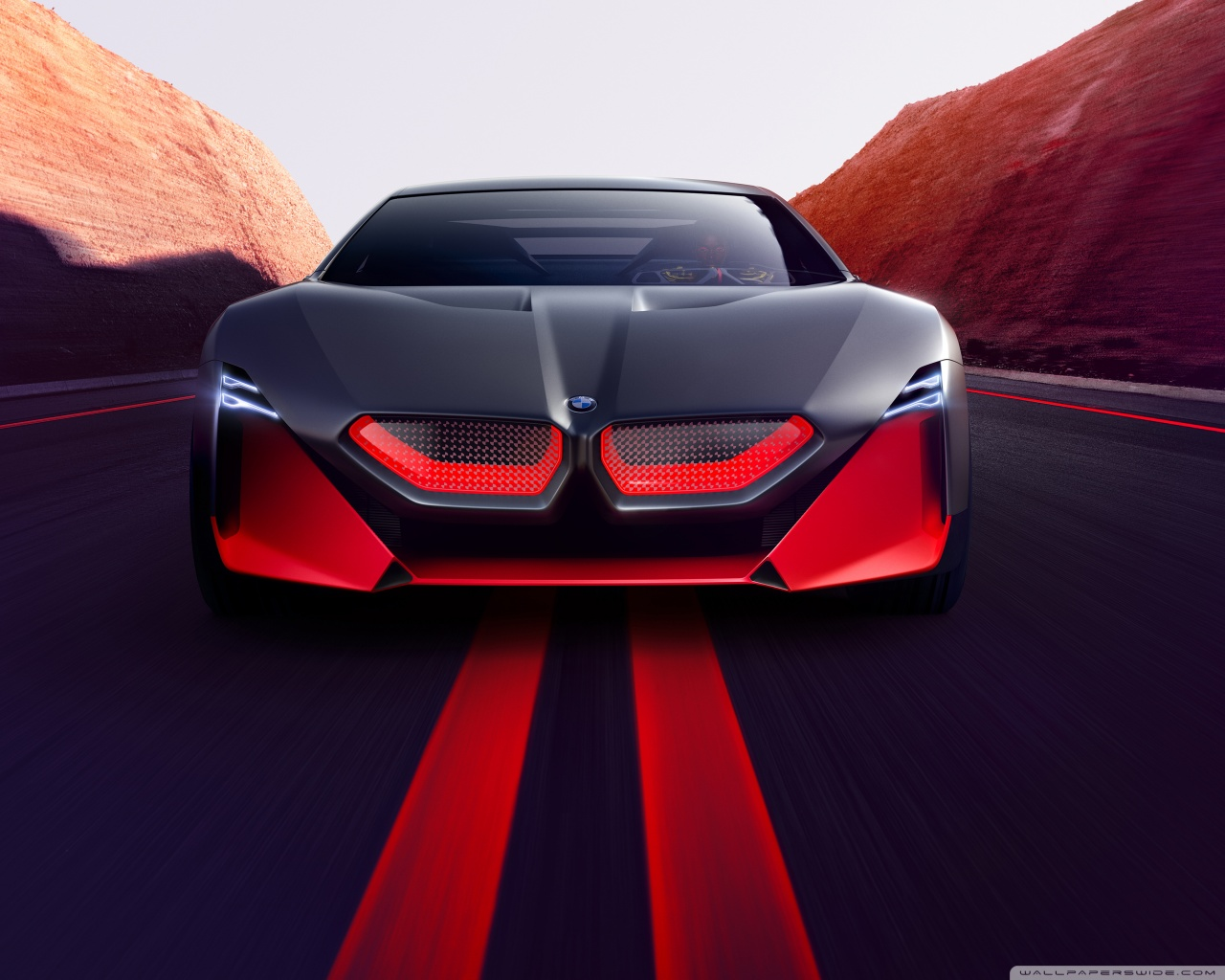 2019 BMW Vision M NEXT Sports Car Road 4K HD Desktop Wallpaper 1280x1024