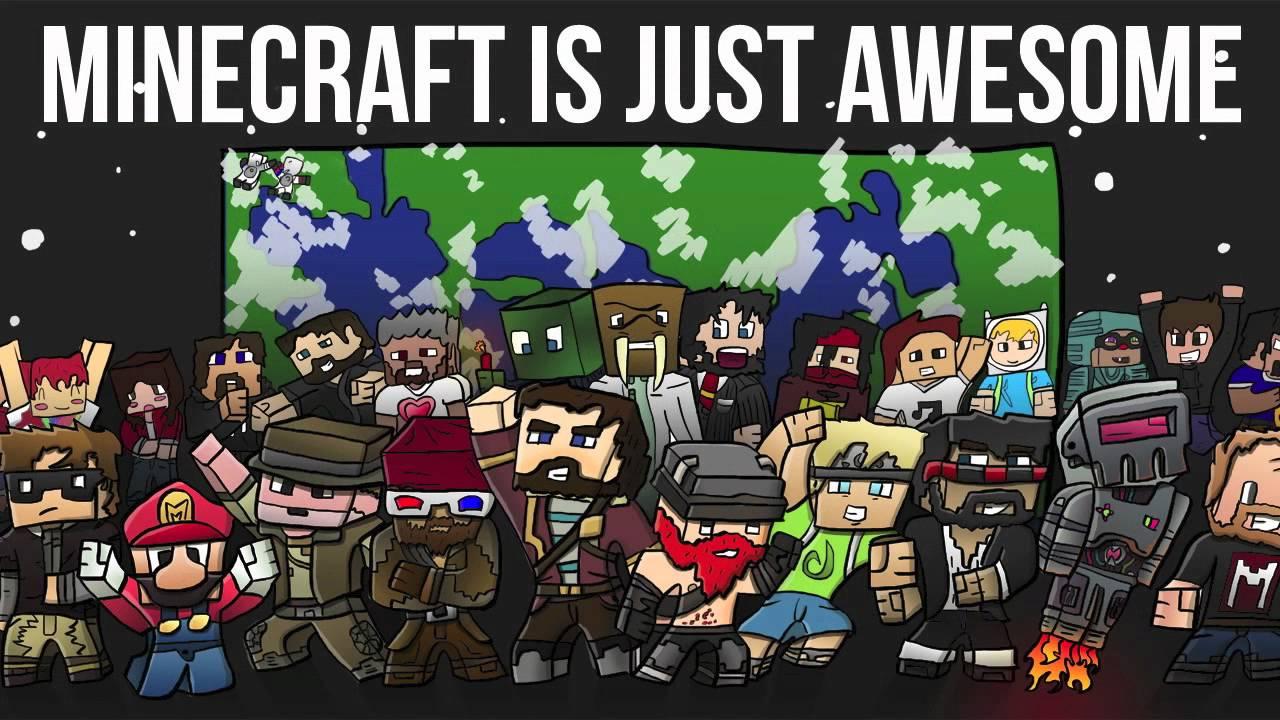 41] Minecraft Skin Youtubers Wallpapers on WallpaperSafari 1280x720