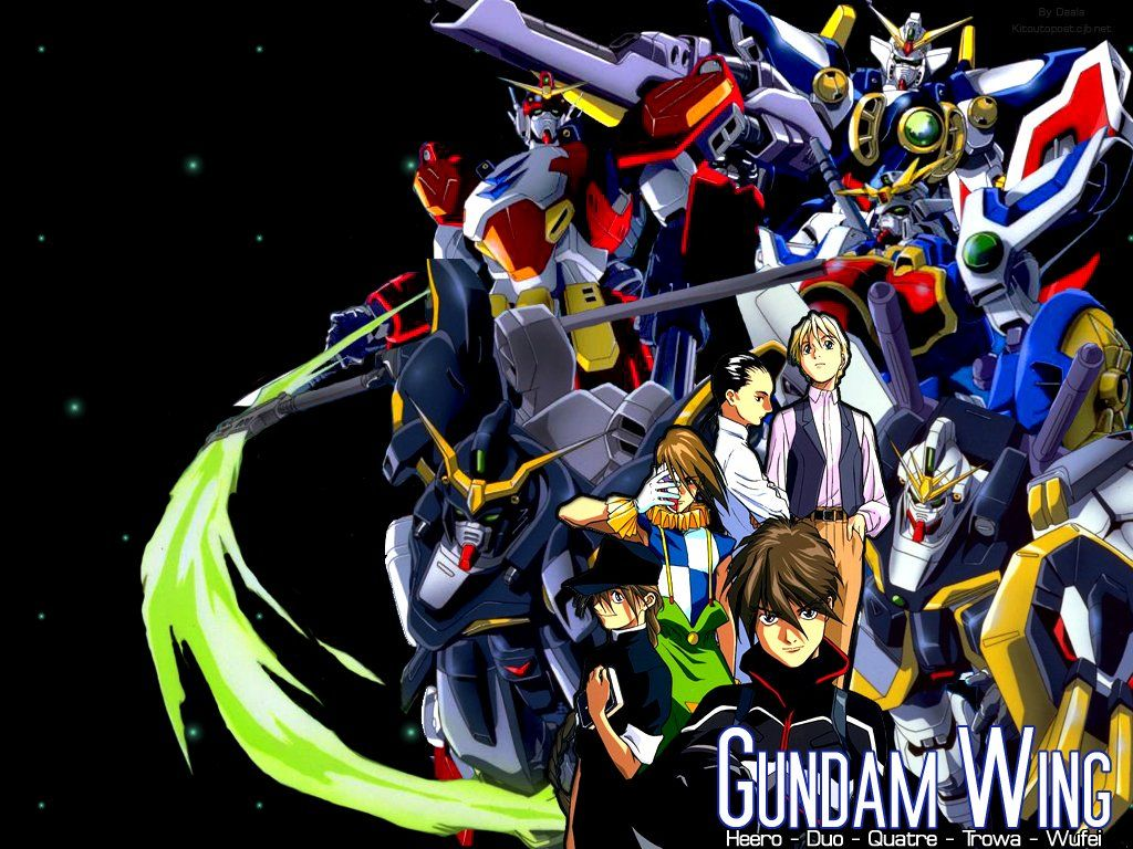 My Shiny Toy Robots Anime REVIEW Gundam Wing 1024x768