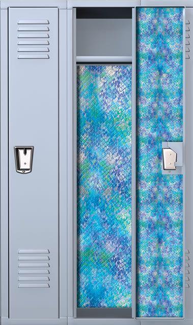 Free Download Snake Print Aqua Locker Wallpaper Set Locker